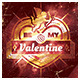 Valentine`s Party Flyer - GraphicRiver Item for Sale