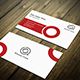 Clean Red Business Card - GraphicRiver Item for Sale