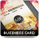 City Business Card - GraphicRiver Item for Sale