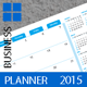 Business Planner Monthly Template 2015 (2014) - GraphicRiver Item for Sale