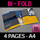 Company Brochure Bi-Fold Template Vol.17 - GraphicRiver Item for Sale