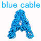 Blue Cable Alphabet - VideoHive Item for Sale