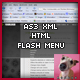 XML Flash Menu for a HTML Environment V1 - ActiveDen Item for Sale