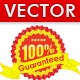 Guarantee Badge Vector  - GraphicRiver Item for Sale