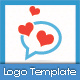 Love Chat Logo Templates - GraphicRiver Item for Sale