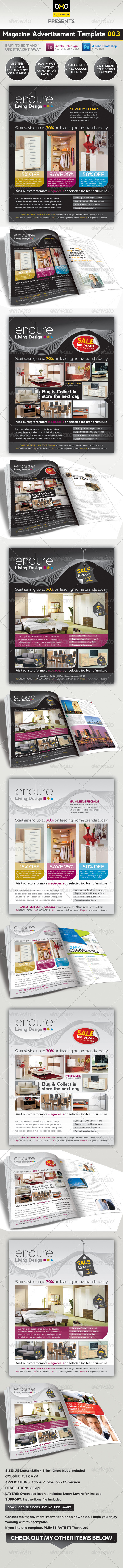 GraphicRiver Magazine Advert Template 003 694829