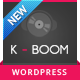 K-BOOM - Events & Music Responsive WordPress Theme - ThemeForest Item for Sale