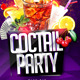 Coctail Party Flyer - GraphicRiver Item for Sale