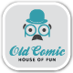 Old Comic Comedy Bar Logo - GraphicRiver Item for Sale