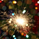 sparkler burning on festive background - PhotoDune Item for Sale