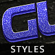 3D Glitter Styles Vol 1 - GraphicRiver Item for Sale