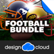 Football Flyer Template Bundle - GraphicRiver Item for Sale