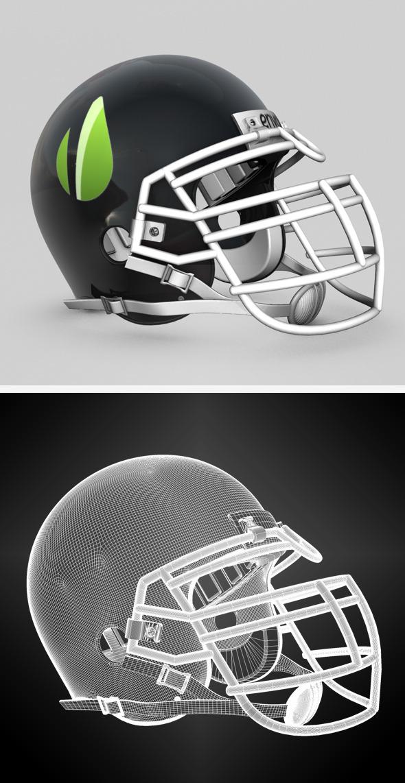 3DOcean Generic NFL Football Helmet 695696