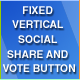 Fixed Vertical Social Share and Vote Button Plugin - CodeCanyon Item for Sale