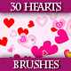Set of Hearts Brushes for Adobe Illustrator - GraphicRiver Item for Sale