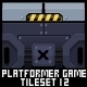 Platformer Game Tile Set 12 - GraphicRiver Item for Sale
