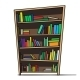 Cartoon Bookshelf - GraphicRiver Item for Sale