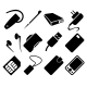 Mobile Phone Accessories Icon Set - GraphicRiver Item for Sale