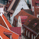 Closeup Aerial View of Old Town in Tallinn - PhotoDune Item for Sale