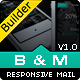 B&M - Responsive Email With Template Builder - ThemeForest Item for Sale