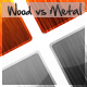 Wood vs Metal Icons - GraphicRiver Item for Sale