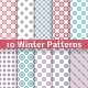 Light Winter Patterns - GraphicRiver Item for Sale