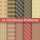 Christmas Different Seamless Patterns - GraphicRiver Item for Sale