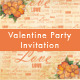 Valentine Party Invitation - GraphicRiver Item for Sale