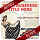Retro Business Flyer - GraphicRiver Item for Sale