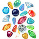 Array of Precious Stones - GraphicRiver Item for Sale