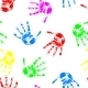 Seamless Hand Print Wallpaper - GraphicRiver Item for Sale