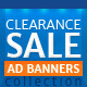 Clearance Sale Web Ad Banners - GraphicRiver Item for Sale