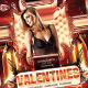 Red Valentines Party Flyer Template - GraphicRiver Item for Sale