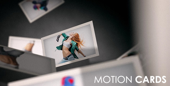 After Effects Project - VideoHive Motion Cards 697509