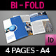 Company Brochure Bi-Fold Template Vol.18 - GraphicRiver Item for Sale