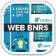 Cameleon Works Web Banners - GraphicRiver Item for Sale
