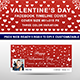Valentine's Day Facebook Timeline Cover - GraphicRiver Item for Sale