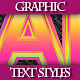 Set of Different Colorful Text Graphic Styles. - GraphicRiver Item for Sale