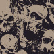Seamless Pattern with Grunge Skulls - GraphicRiver Item for Sale