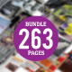 Big Bundle Indesign Magazine Templates - GraphicRiver Item for Sale