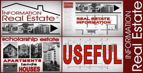 After Effects Project - VideoHive Info Real Estate 576166