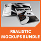 Realistic Magazine Mockups Bundle - GraphicRiver Item for Sale