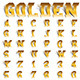 Golden Roll Font - GraphicRiver Item for Sale