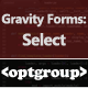 Gravity Forms: Select Optgroup - CodeCanyon Item for Sale