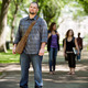 Confident Male Student On Standing Campus Road - PhotoDune Item for Sale