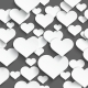 White Seamless Hearts - GraphicRiver Item for Sale