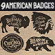 American Vintage Badges Part Two - GraphicRiver Item for Sale