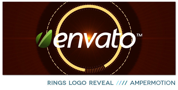 After Effects Project - VideoHive Rings Logo Reveal 703442
