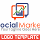 Social Market Logo template - GraphicRiver Item for Sale