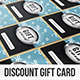 Discount Gift Card - GraphicRiver Item for Sale